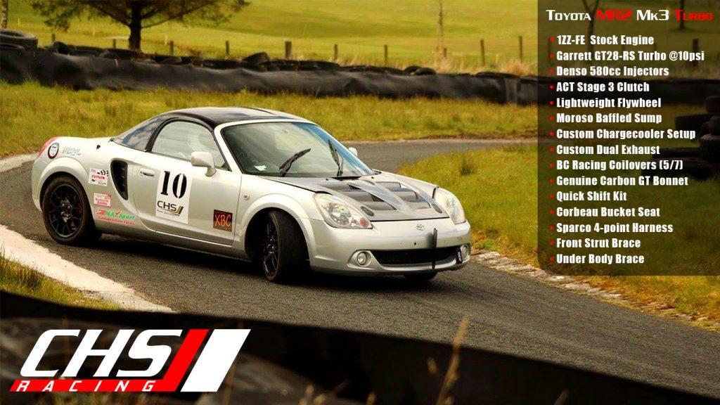 Toyota Mr2 Mk3 Turbo – CHS Racing